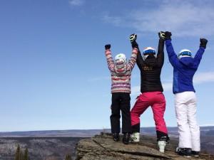 On-hill training @ Ski Land